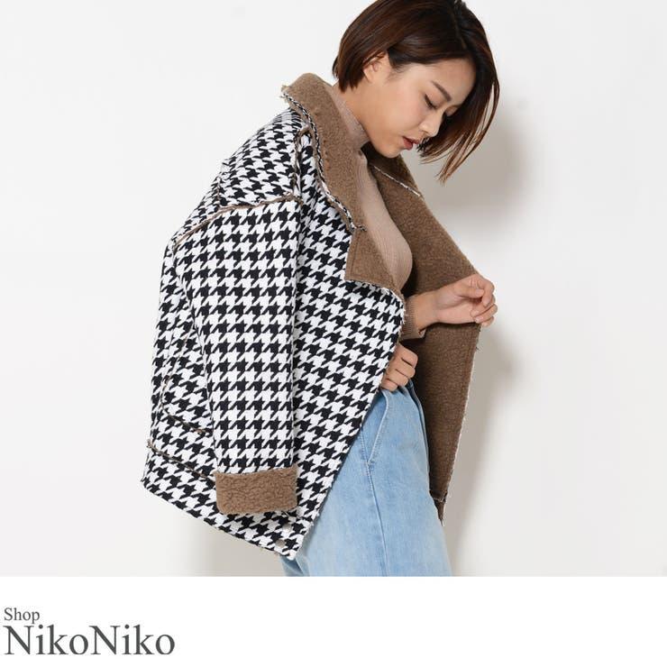 ShopNikoNikoのアウター(コート・ジャケットなど)/ライダースジャケット | 詳細画像