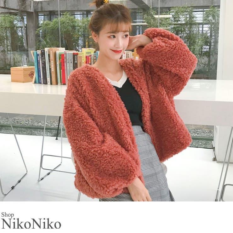 ShopNikoNikoのアウター(コート・ジャケットなど)/ファーコート | 詳細画像