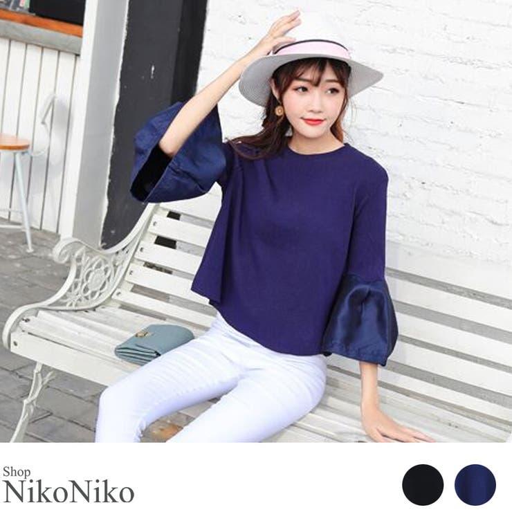 ShopNikoNikoのトップス/カットソー   詳細画像