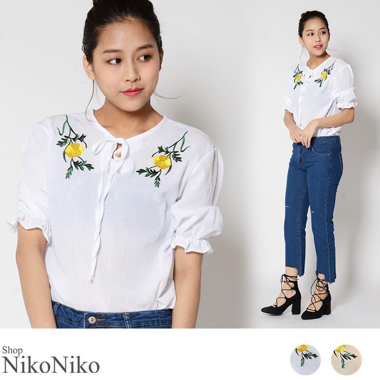 ShopNikoNikoのトップス/ブラウス   詳細画像