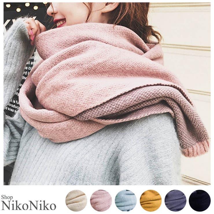 ShopNikoNikoの小物/マフラー | 詳細画像