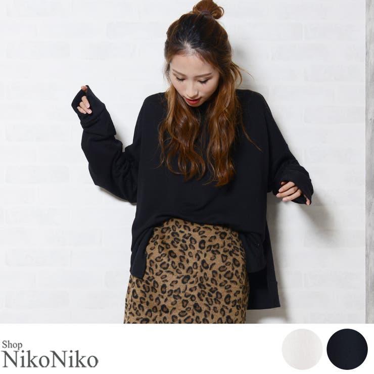 ShopNikoNikoのトップス/スウェット・ジャージ   詳細画像