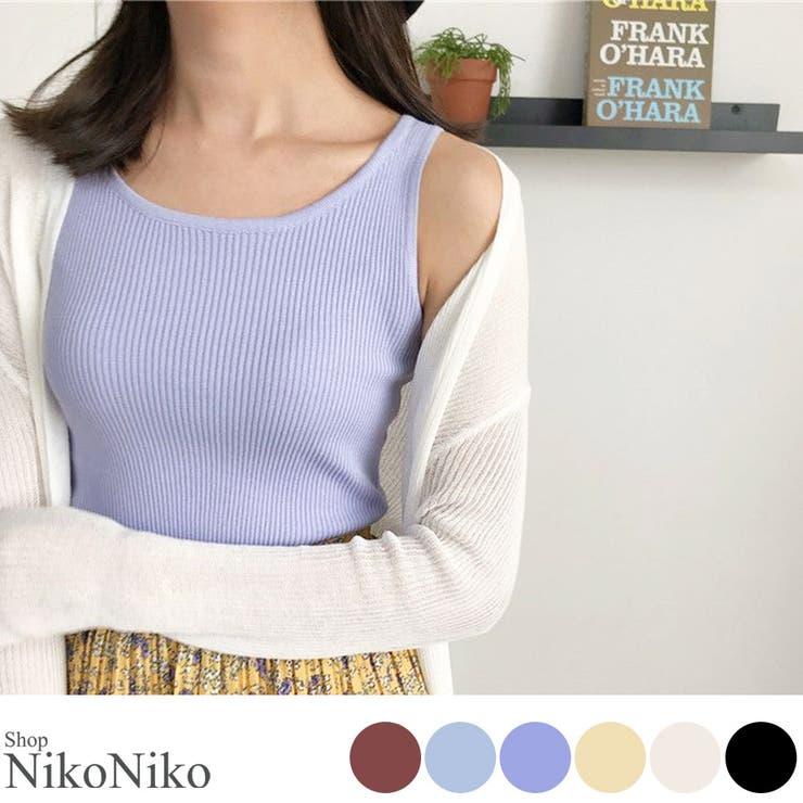 ShopNikoNikoのトップス/ノースリーブ | 詳細画像