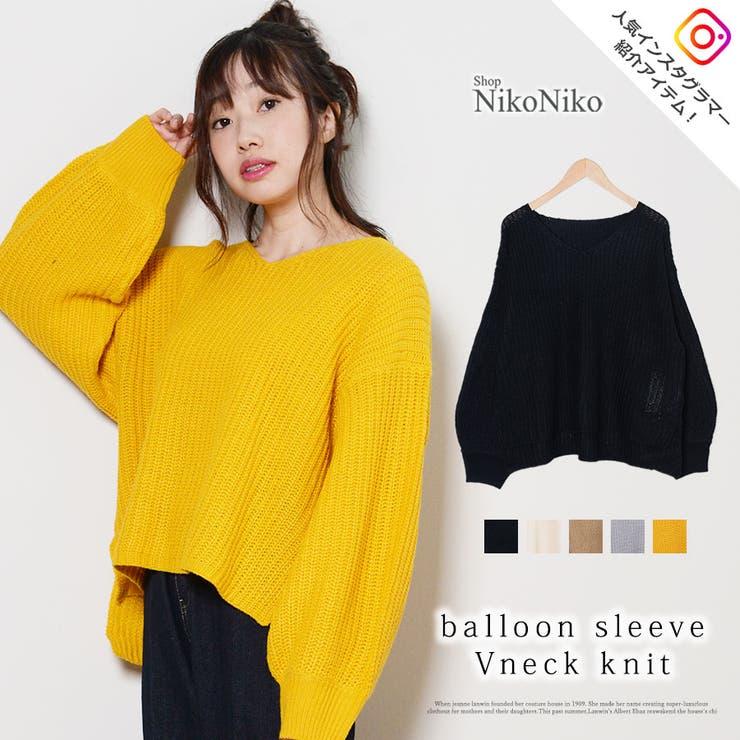 ShopNikoNikoのトップス/ニット・セーター   詳細画像