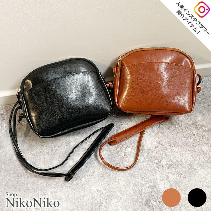 秋新作 レザー調ミニショルダー 鞄 | ShopNikoNiko | 詳細画像1