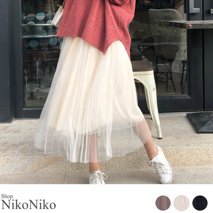 ShopNikoNikoのスカート/プリーツスカート   詳細画像