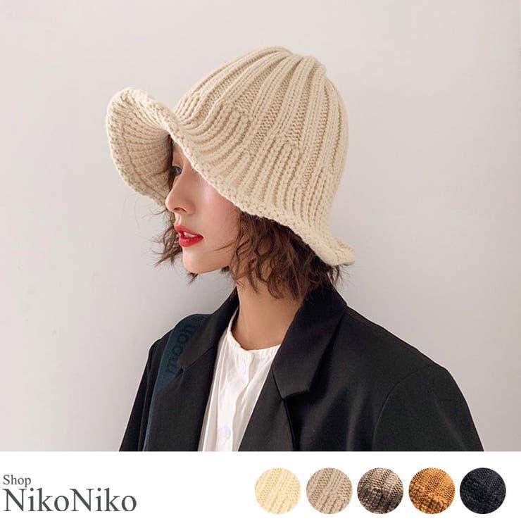 ShopNikoNikoの帽子/ニット帽   詳細画像
