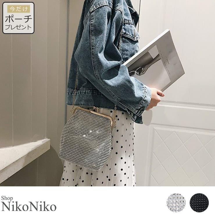 秋新作 がま口 チェーンバッグ   ShopNikoNiko   詳細画像1