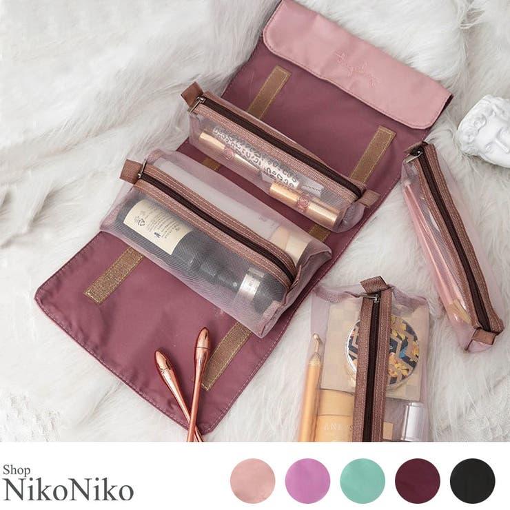 秋新作 メッシュ 化粧   ShopNikoNiko   詳細画像1