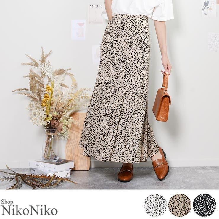 秋新作 レオパード スカート | ShopNikoNiko | 詳細画像1