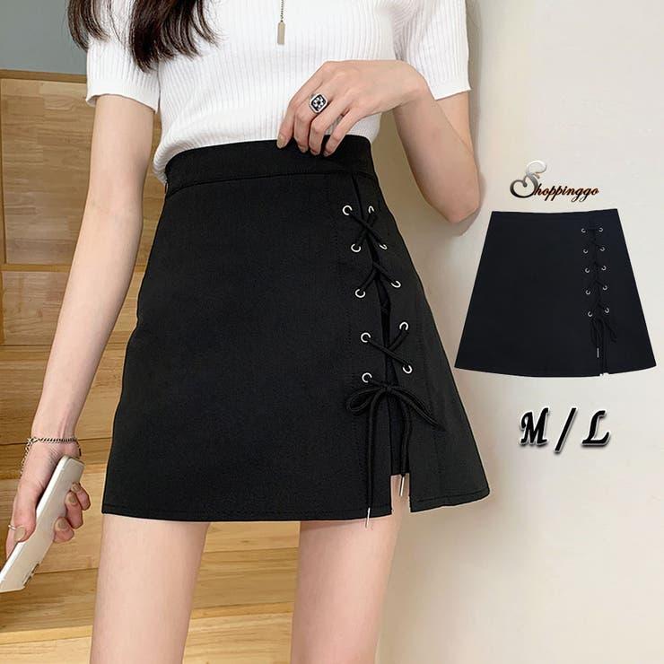 ミニスカート サーキュラースカート スカート   shoppinggo   詳細画像1