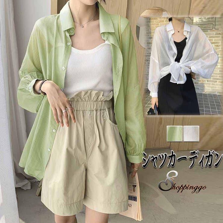 韓国ファッション 新作 チュニックシャツ | shoppinggo | 詳細画像1