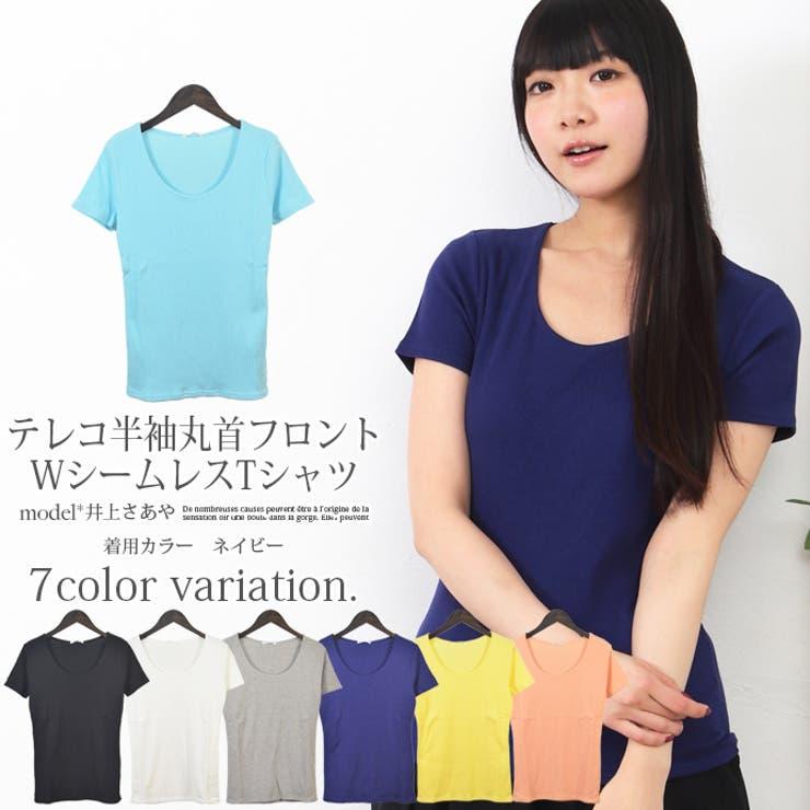 レディース Tシャツ テレコ   SHOT+   詳細画像1