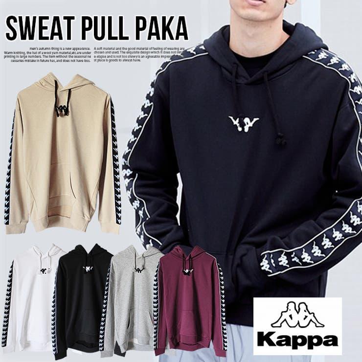 メンズ kappa パーカー   SHOT+   詳細画像1