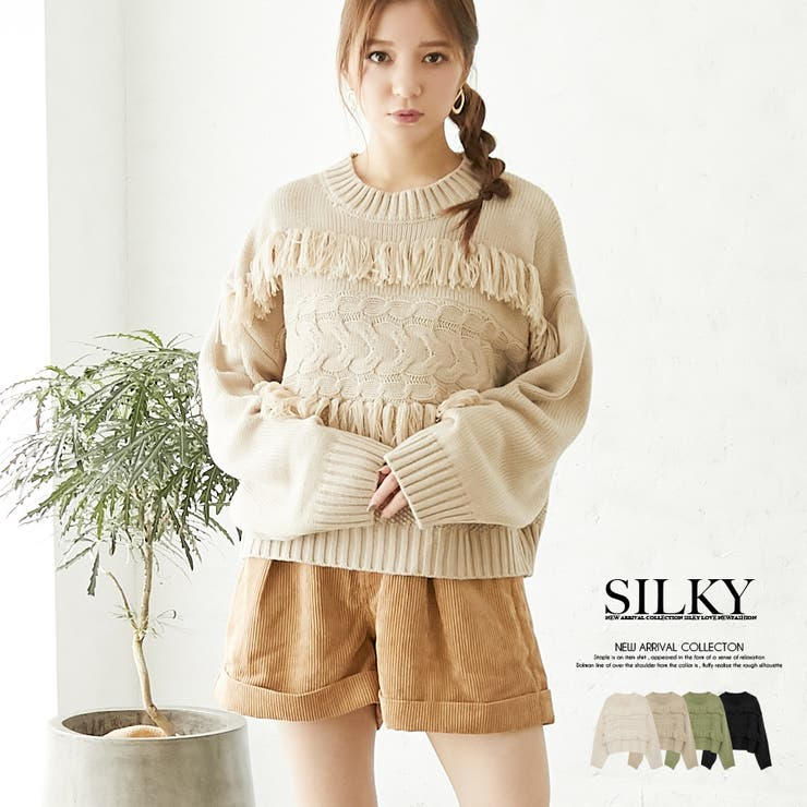 Silkyのトップス/ニット・セーター   詳細画像