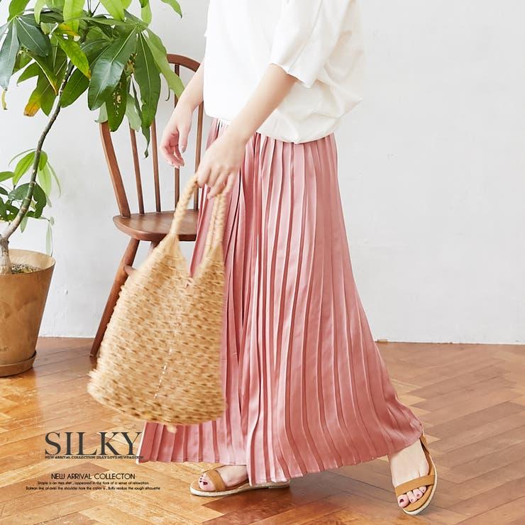 Silkyのスカート/プリーツスカート   詳細画像