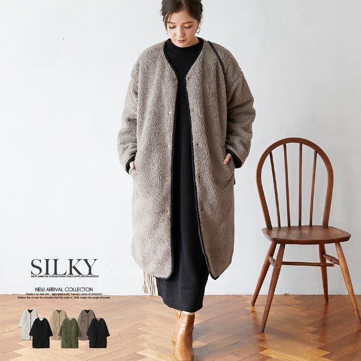 Silkyのアウター(コート・ジャケットなど)/ロングコート   詳細画像