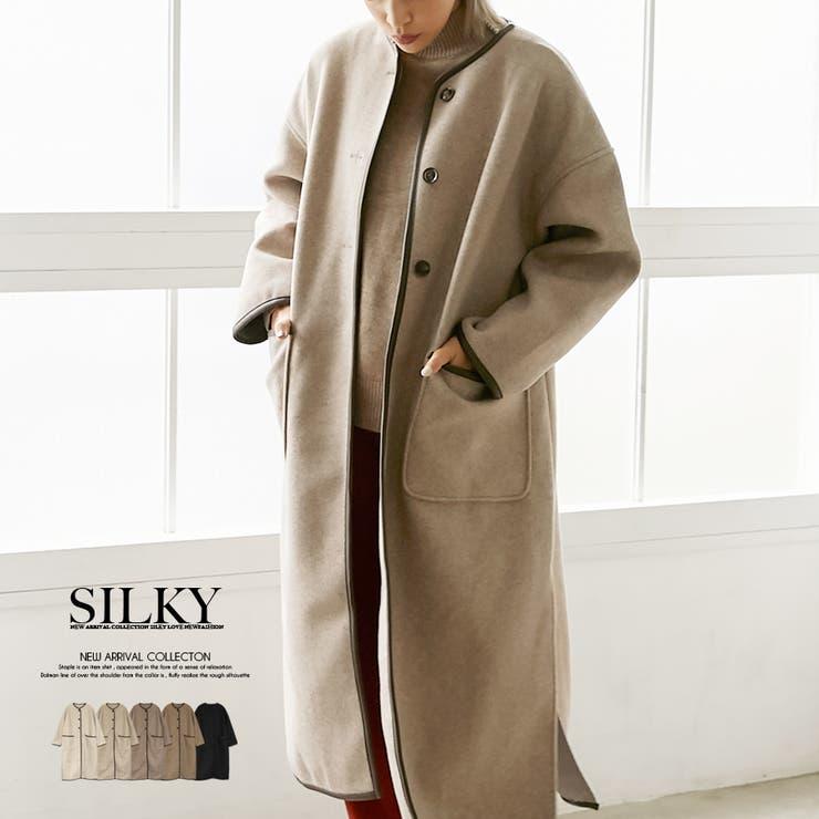 Silkyのアウター(コート・ジャケットなど)/ロングコート | 詳細画像