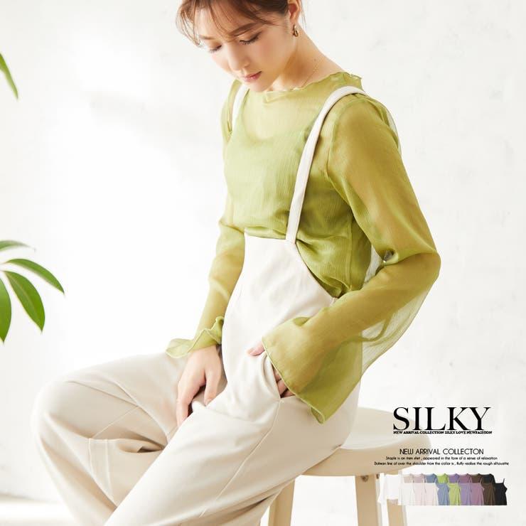 Silkyのトップス/ブラウス   詳細画像