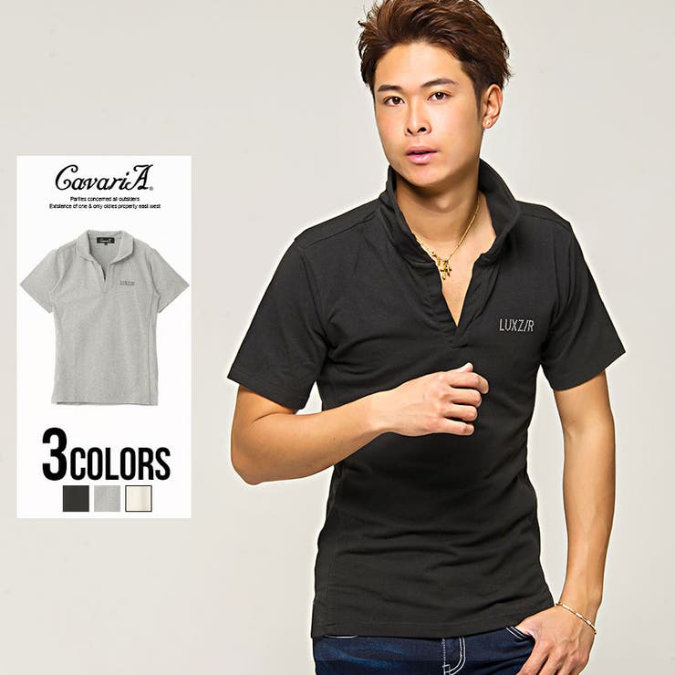 ポロシャツ メンズ   SILVER BULLET   詳細画像1