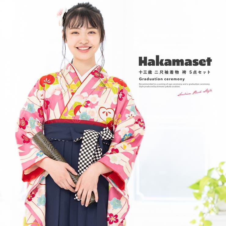 卒業式向け着物・袴セット | 詳細画像