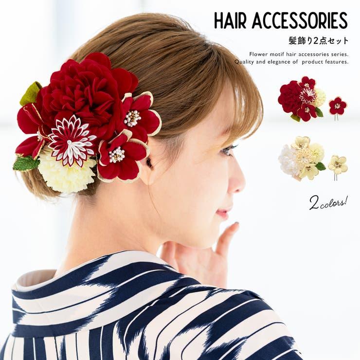 髪飾り 成人式 花   SOUBIEN   詳細画像1