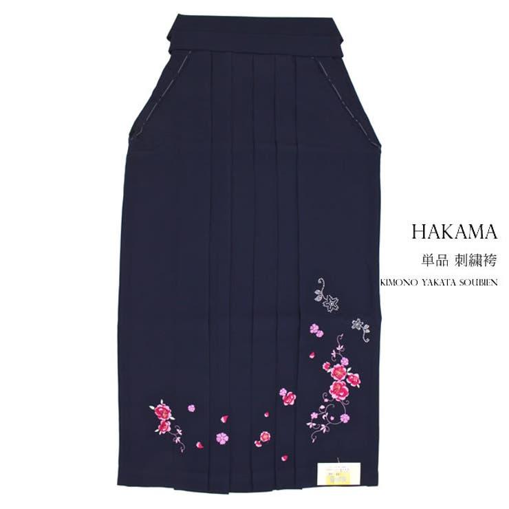 さくらの刺繍の女性用単品袴 | 詳細画像