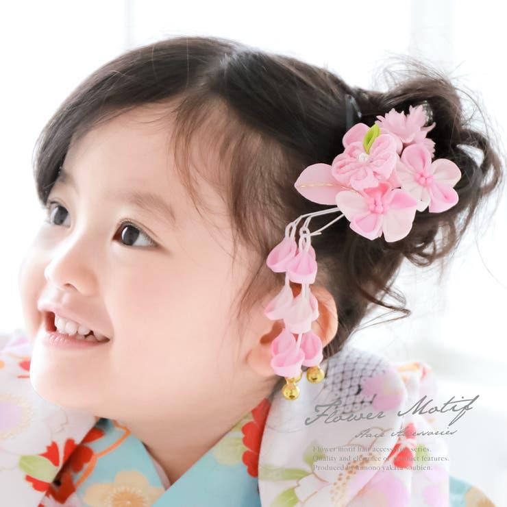 3歳と7歳のお祝いに☆つまみ細工の花の髪飾り | 詳細画像