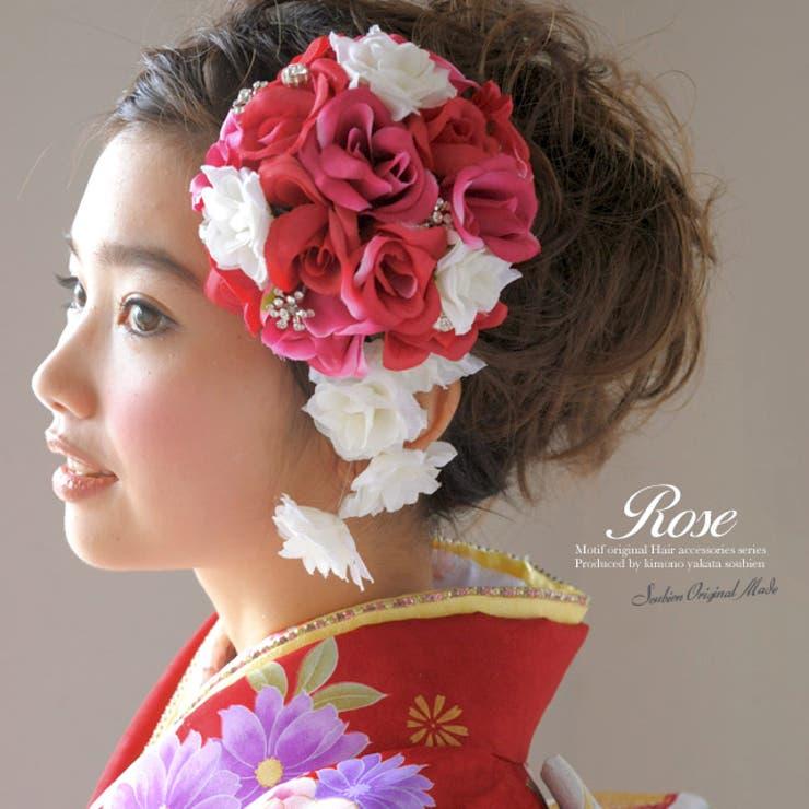 成人式など華やかな振袖にオススメな髪飾り(モデル:早川まいちゃん) | 詳細画像