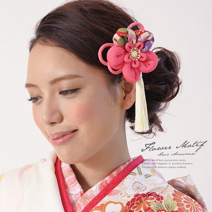 成人式におすすめなお花の髪飾り | 詳細画像