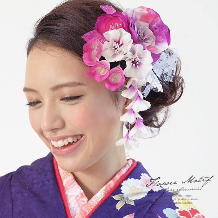 成人式におすすめな髪飾りセット   詳細画像