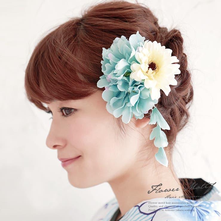着物姿にプラスワン☆彩り豊かな花の髪飾り | 詳細画像
