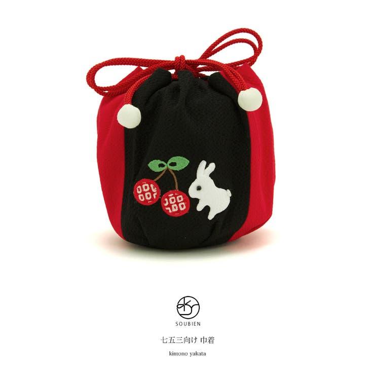 巾着 ブランド わらべくらぶ | BiSOU | 詳細画像1