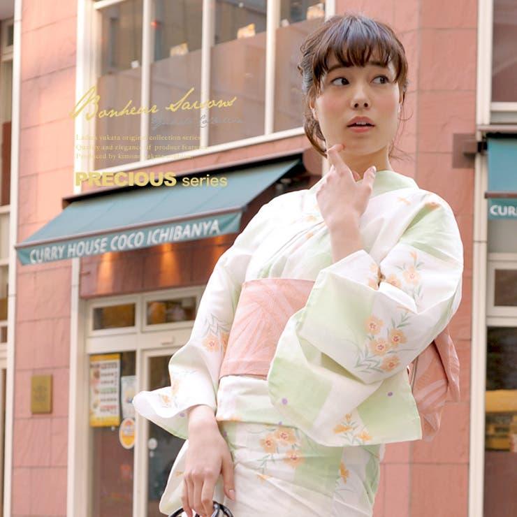 人気ブランドのレディース浴衣セット   詳細画像