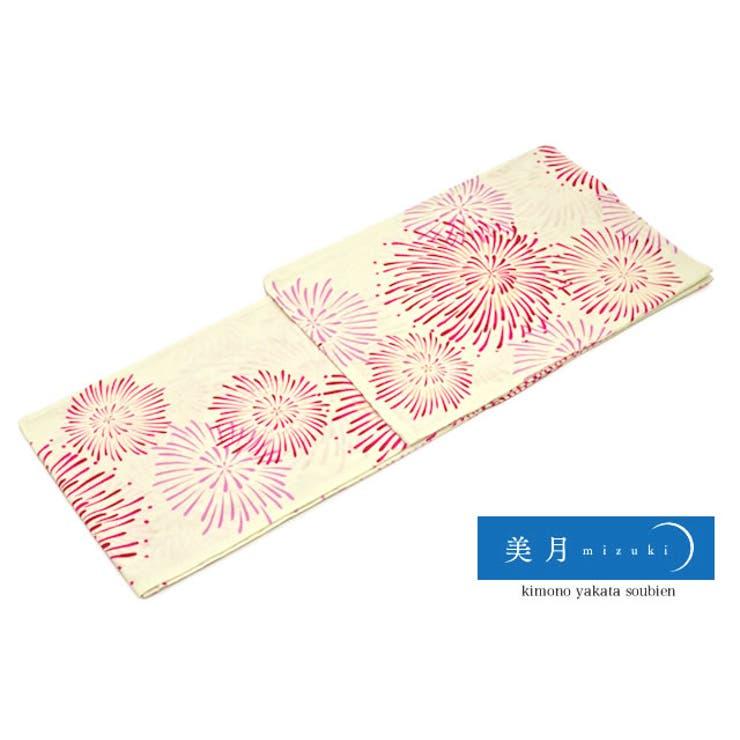 人気ブランド美月「mizuki」のレディース浴衣   詳細画像
