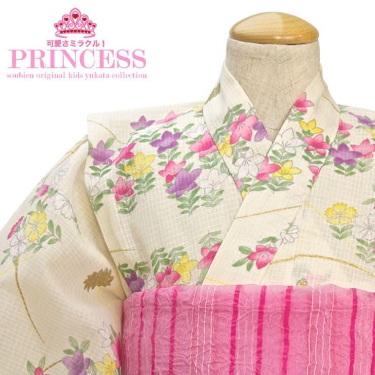 ボヌールセゾンの女の子浴衣 | 詳細画像