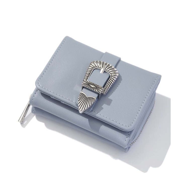 三つ折り財布 ウエスタンベルト レディース | SPINNS | 詳細画像1