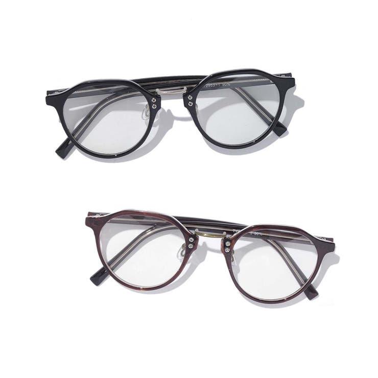 ウエリントン型メガネ/TY2953-DATE | SPINNS【MEN】 | 詳細画像1