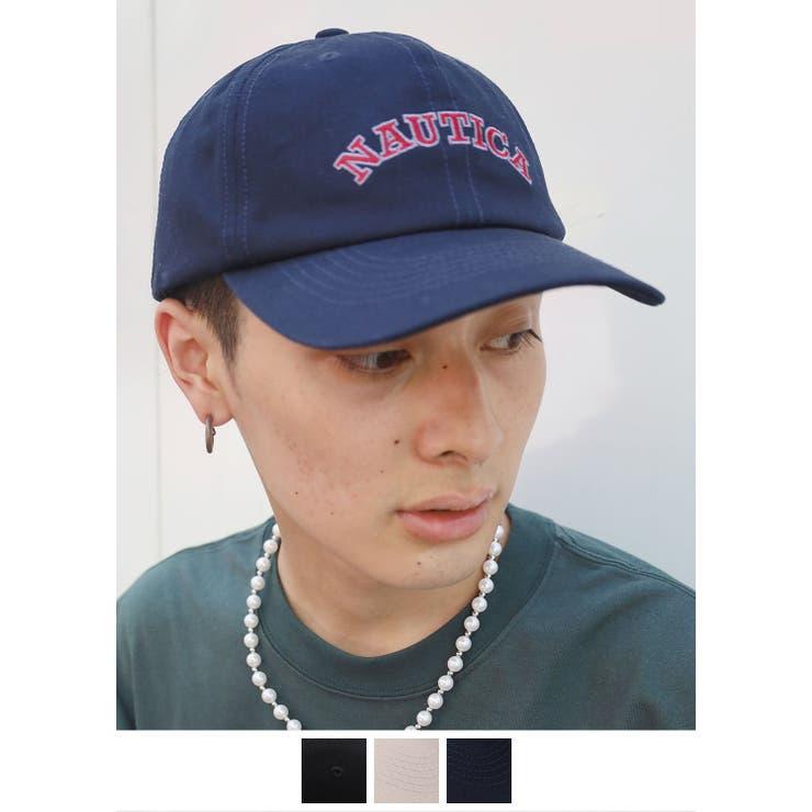 ローキャップ ロゴ ベージュ   SPINNS【MEN】   詳細画像1