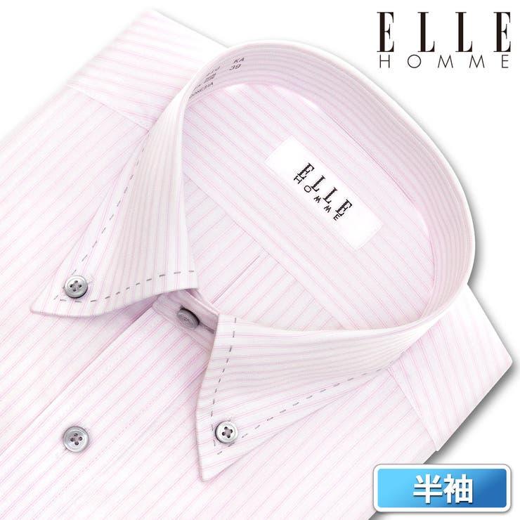 ELLE HOMME 半袖   ワイシャツの山喜    詳細画像1