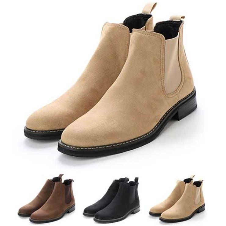 ブーツ サイドゴア ショートブーツ   Style Block MEN   詳細画像1