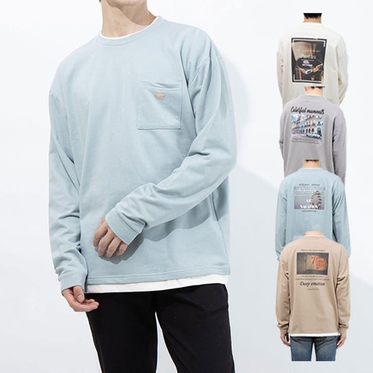 Tシャツ カットソー ロンT | Style Block MEN | 詳細画像1