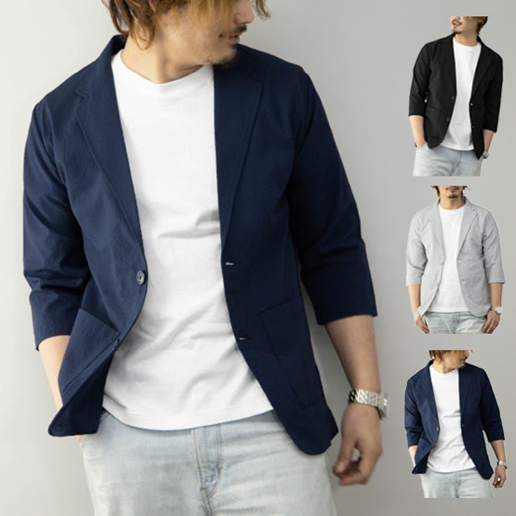 テーラードジャケット ジャケット 夏   Style Block MEN   詳細画像1