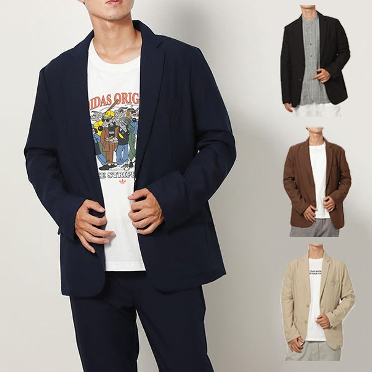 テーラードジャケット ジャケット シングル   Style Block MEN   詳細画像1