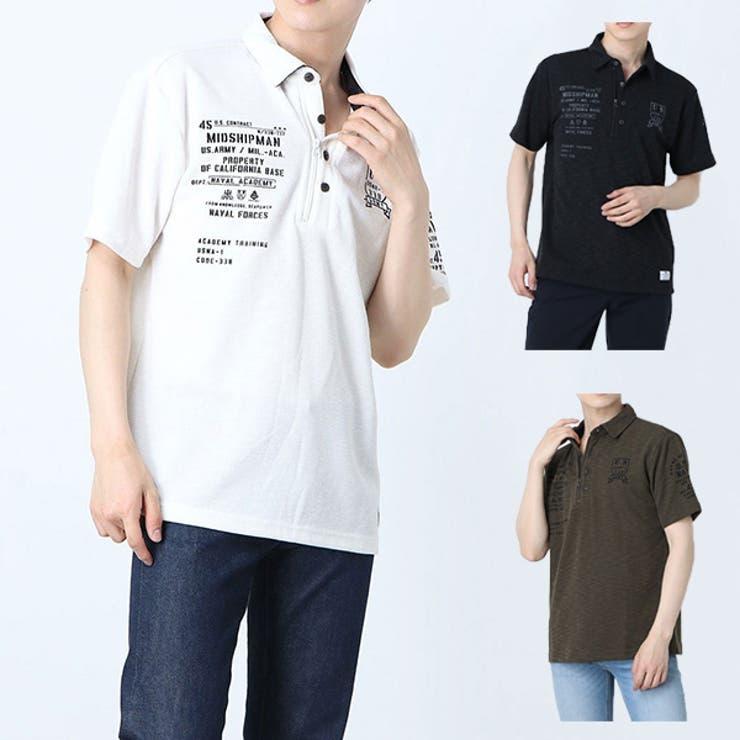 ポロシャツ ゴルフウェア スポーツ   Style Block MEN   詳細画像1