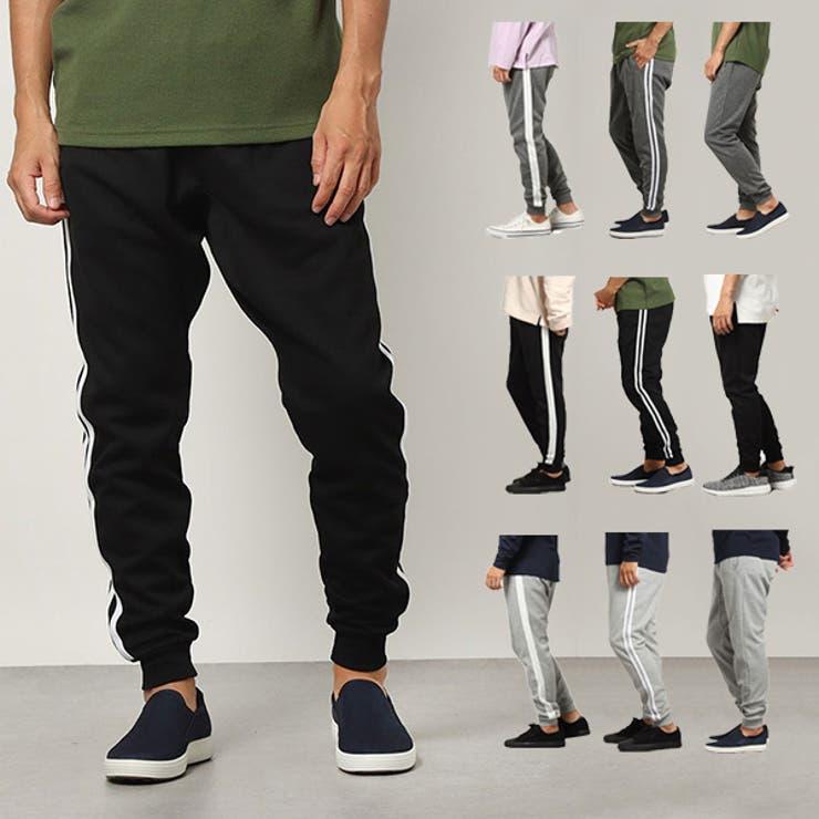 イージーパンツ ジョガーパンツ スウェット | Style Block MEN | 詳細画像1