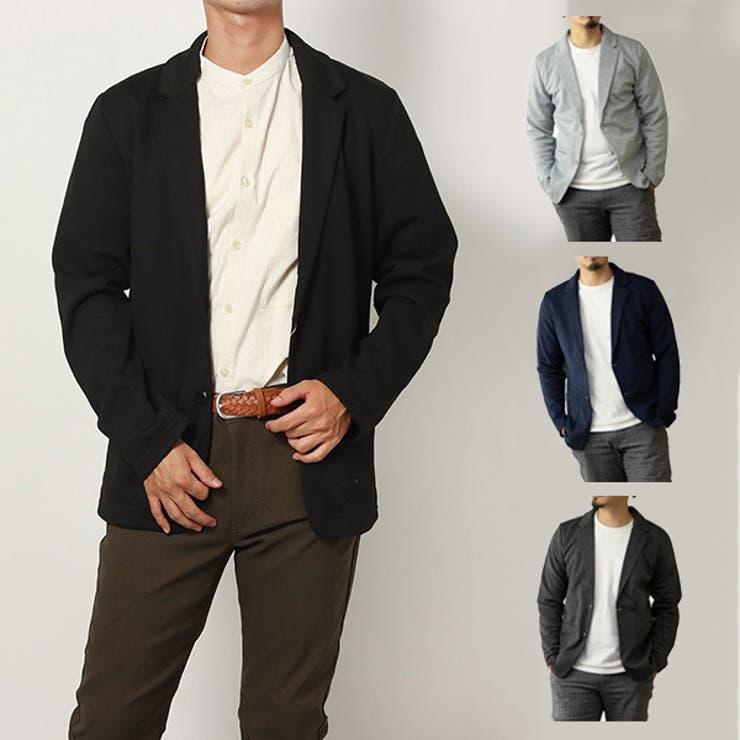 テーラードジャケット セットアップ スウェット | Style Block MEN | 詳細画像1