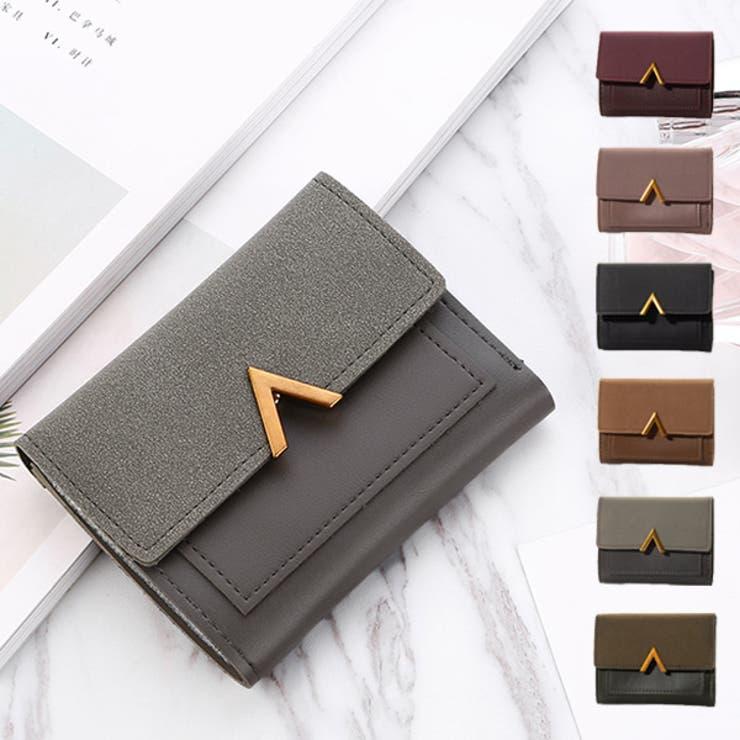 短財布 財布 二つ折り   STYLEBLOCK   詳細画像1