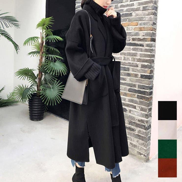 チェスターコート コート ロング   STYLEBLOCK   詳細画像1