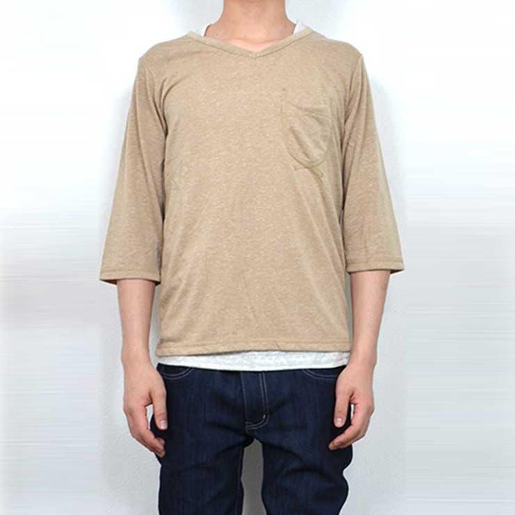 ポケットカットソー Tシャツ タンクトップ | Style Block MEN | 詳細画像1